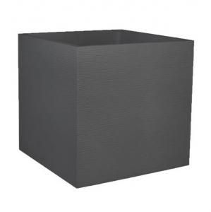Pot carré Graphit - EDA - 57 L - Gris Anthracite