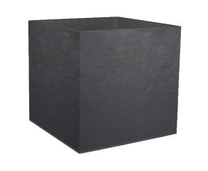 Pot carré Volcania - EDA - 57 L - Gris Anthracite