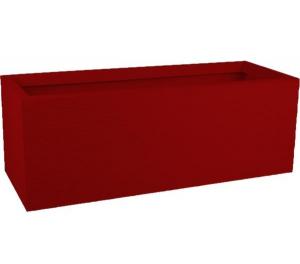 Jardinière Graphit UP - EDA - 79,5 X 29,5 X 29,5 cm - 57 L - Rouge Rubis