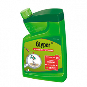 Désherbant concentré - 900 ml - Glyper