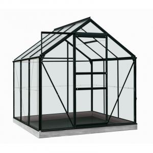 Serre Daisy en verre sécurit 3 mm - ACD - 3,8 m² - Noir