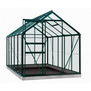 Serre Lily en verre sécurit 3 mm - ACD - 6,2 m² - Vert