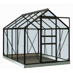 Serre Ivy en polycarbonate 4 mm - ACD - 5 m² - Noir