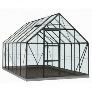 Serre Oliver en polycarbonate 6 mm - ACD - 9,9 m² - Vert