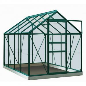 Serre Ivy en verre sécurit 3 mm - ACD - 5 m² - Vert