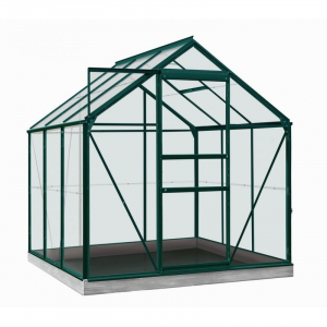 Serre Daisy en verre sécurit 3 mm - ACD - 3,8 m² - Vert