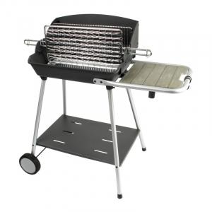 Barbecue Exel Grill - Somagic - Charbon de bois - cuve en fonte - soufflerie turbomagic -  99x58.5x96.5 cm