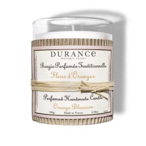 Bougie parfumée Fleur d'oranger - 180 g- Durance