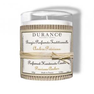 Bougie parfumée Ambre précieux - 180 g - Durance