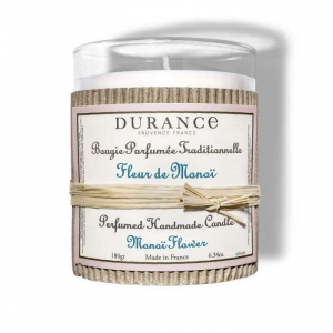Bougie parfumée traditionnelle - Durance - Fleur de Monoï - 180 g