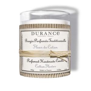 Bougie parfumée traditionnelle - Durance - Fleur de Coton - 180 g
