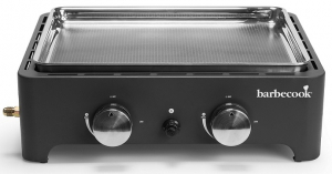 Plancha Victor - Barbecook - gaz - noir - 62x37x21 cm