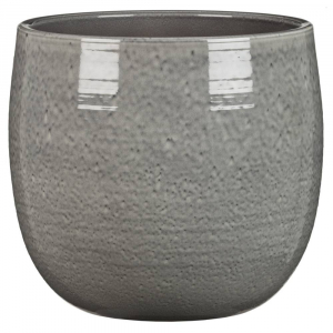 cache-pot 765 - Deroma - Glazing grey - Ø 25 cm