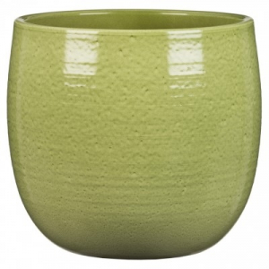 Cache-pot 765 - Deroma - Glazing green - Ø 18 cm