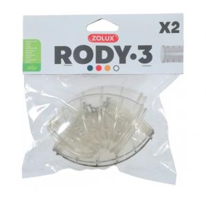 Tubes coudés Rody.3 - Zolux - x 2