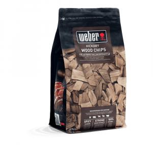 Sac de bois de fumage - Copeaux de Hickory - Weber - 0,7 kg