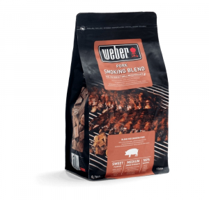 Sac de bois de fumage - Pour porc - Weber - 0,7 kg