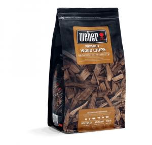 Sac de bois de fumage - Copeaux au whisky - Weber - 0,7 kg