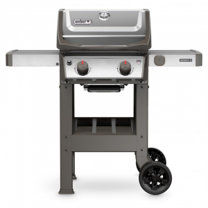 Barbecue Spirit II S-210 - Weber Stephen - gaz - inox - 113 x 122 x 69 cm
