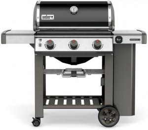 Barbecue genesis II E-310 - Weber Stephen - gaz - noir - 114.3 x 137.2 x 78.8 cm