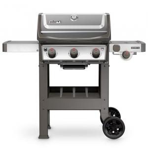 Barbecue Spirit II S-320 - Weber Stephen - gaz - inox - 113 x 132 x 69 cm