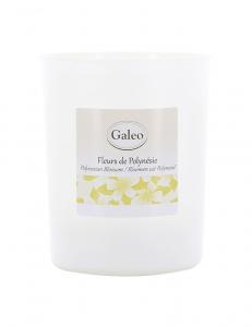 Bougie parfumée Fleurs de Polynésie - 180 g - Galéo