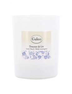 Bougie parfumée Douceur de Lin - 180 g - Galéo