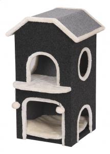 Maison pour chat 'Nordic Villa' - Flamingo - 40 x 40 x 81 cm