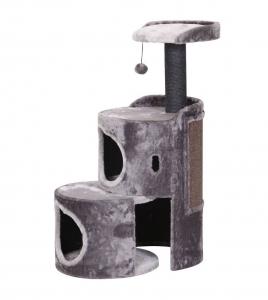 Arbre à chat extensible 'Tonni' - Flamingo - 61 x 95 cm - Gris