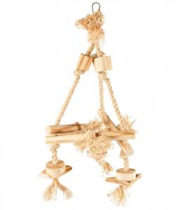 Accessoires perruche - Flamingo - Hélice en corde