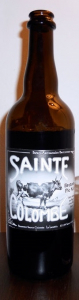 Bière brune Bretonne Pie Noir - Brasserie Sainte-Colombe - 6° - 75 cl
