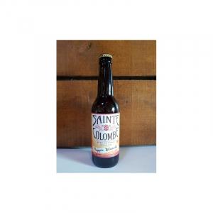 Bière Bretonne Hoppie blanche - Brasserie Sainte-Colombe - 5,5° - 33 cl