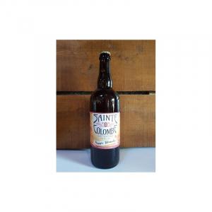 Bière Bretonne Hoppie blanche - Brasserie Sainte-Colombe - 5,5° - 75 cl