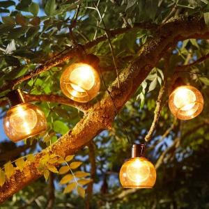Guirlande solaire Boules lumineuses - Smart Solar - 10 LEDs
