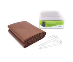 Pack Kit Géotextile - Anti mauvaises herbes - 3 m² + 4 agrafes