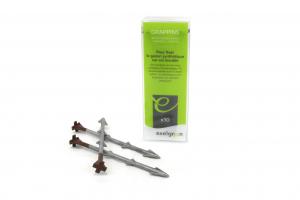 Grappins de fixation gazon synthétique - Pour sol meuble - x 10