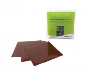 Patchs de fixation gazon synthétique - Pour sol dur - x 8