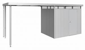Auvent - Abri de jardin Highline - Taille 4 - argent - 275 x 282 x 222 cm