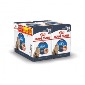 Lot émincés en sauce Light - Royal Canin - 12 X 85 g - 1 + 1 boîte à -60%