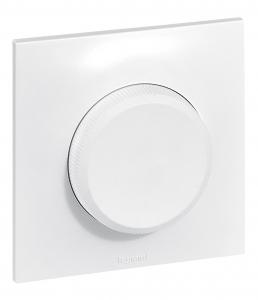 Interrupteur variateur à bouton Neptune - Legrand - 300 W - Blanc