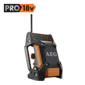 Radio de chantier BR1218C - AEG - 5,0 Ah - 18 V