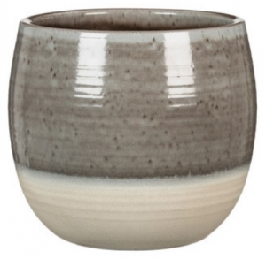 Cache pot 765 - Deroma - Grey allure - Ø 18 cm