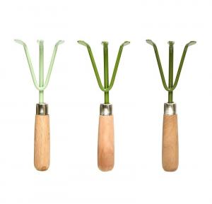 Râteau vert ass. - Esschert Design - 8 x 4,9 x 23,9 cm