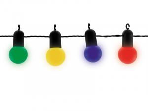 Guirlande fête multicolore à leds