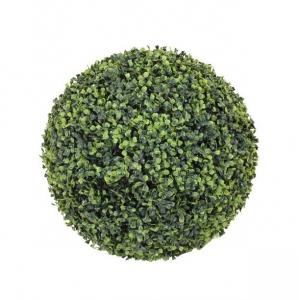 Boule de buis artificielle - Mica - Ø 50 cm - Vert