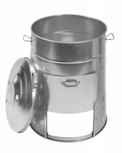 Composteur en  métal - 120 L - Galvanisé à chaud - Guillouard