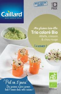 Trio coloré à germer - Cailler