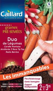 Ruban carotte radis bamba - Caillard
