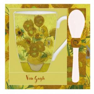 Mug et cuillère Les tournesols de Van Gogh