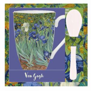 Mug et cuillère Les Iris de Van Gogh